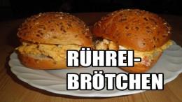 Rührei-Brötchen