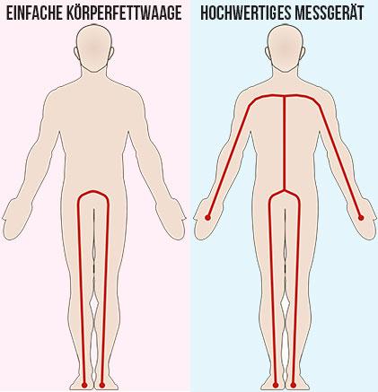 Körperfettwage-Vergleich