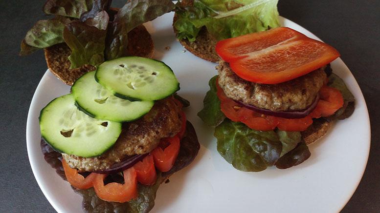 Fitness-Burger belegen