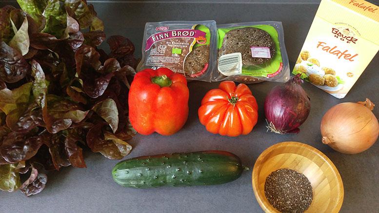 Zutaten Vegane Burger
