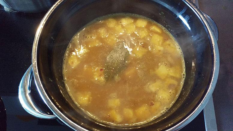Curry einkochen
