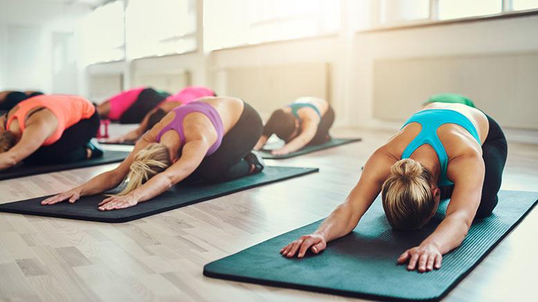 Yoga dehnen