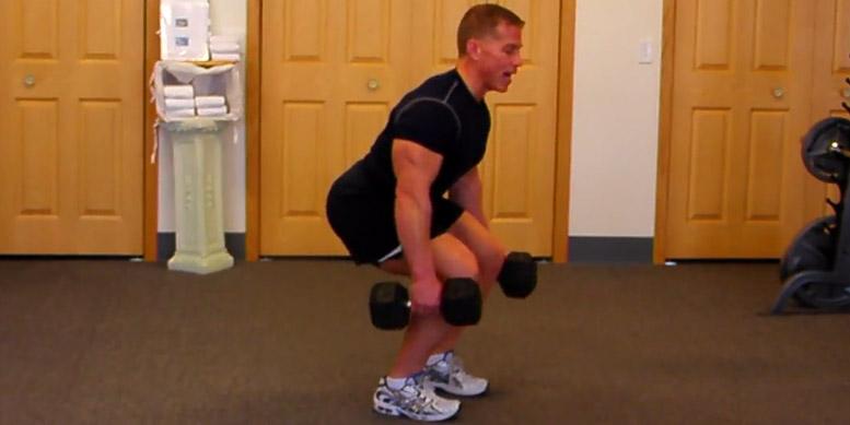 Kniebeugen Kurzhantel: Top 5 Übungen