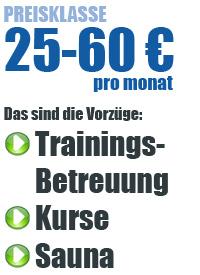 Preisklasse 25-60 Euro