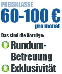 Preisklasse 60-100 Euro