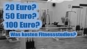 Fitnessstudio-Preise: Was kostet eine Mitgliedschaft?