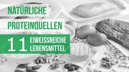 Natürliche Proteinquellen: 11 eiweißreiche Lebensmittel