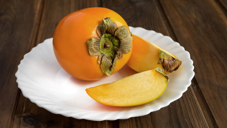 Proteinshake mit Sharonfrucht