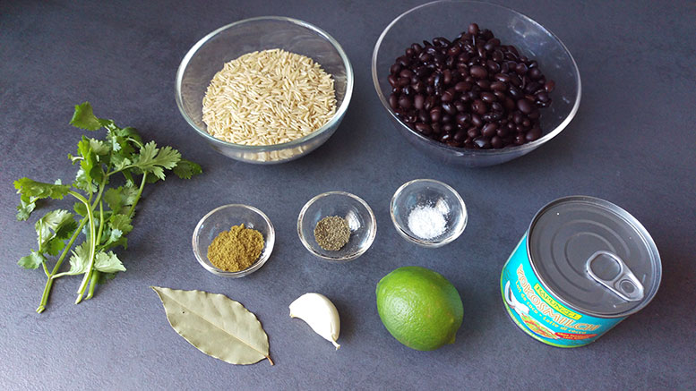 Zutaten Karibischer Reis